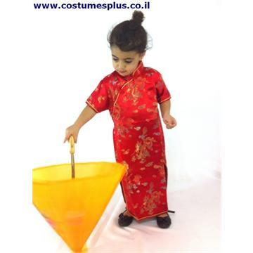 תחפושת שמלה סינית לילדים