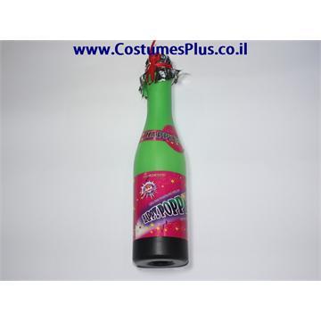 קונפטי בקבוק שמפנייה